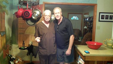 Greg and I after we recorded our One on One episode at his home in Logansport