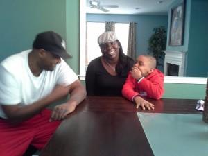 Lance Stephenson family
