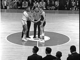 Jerry Harkness handshake